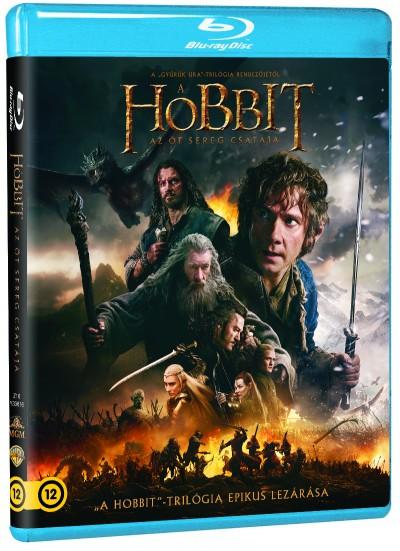 Peter Jackson - A hobbit: Az öt sereg csatája - Blu-ray