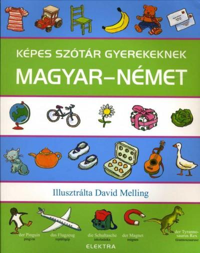 Neil Morris  (Szerk.) - Képes szótár gyerekeknek - Magyar-német