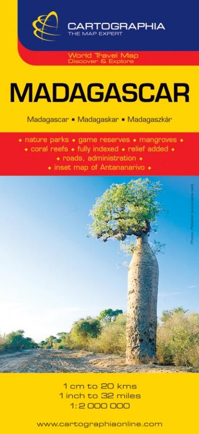 - Madagaszkár térkép