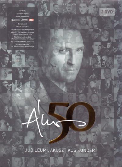 Ákos - Ákos 50 - 2 DVD