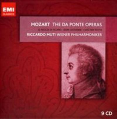 Wiener Philharmoniker - The Da Ponte Operas - 9 CD
