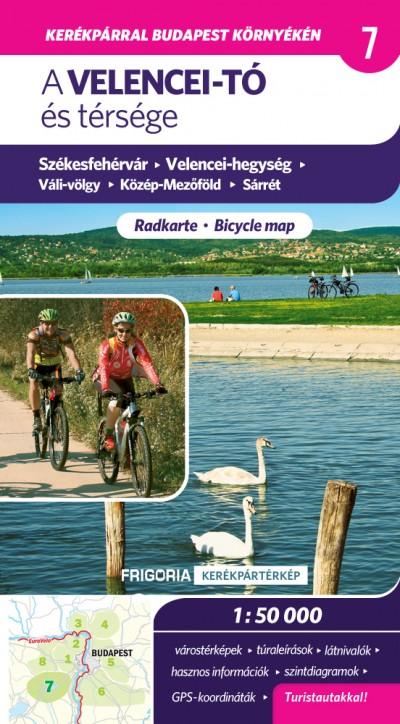 - A Velencei-tó és térsége  - Kerékpáros és turistatérkép 1:50 000