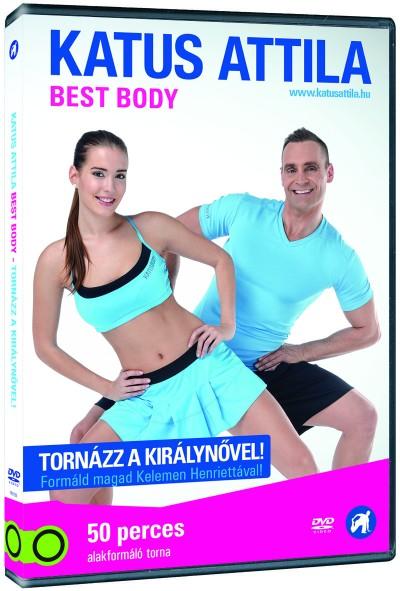 - Katus Attila: Best Body - Tornázz a Királynővel, Kelemen Henriettával! - DVD