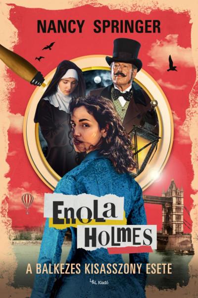Nancy Springer - Enola Holmes - A balkezes kisasszony esete