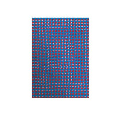 - Jegyzetkönyv A/4 - Illúzió - piros-kék