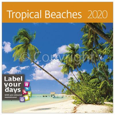- Dayliner falinaptár - Tropical Beaches LP 2020