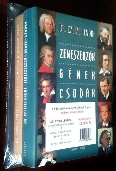 Dr. Czeizel Endre - Dr. Czeizel Endre könyvcsomag
