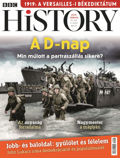 - BBC History - 2019. IX. évfolyam 06. szám - Június