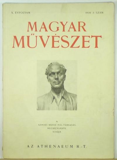 - Magyar Művészet 1934 3. szám