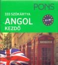 - PONS Szókártyák ANGOL kezdőcsomag A1-B1