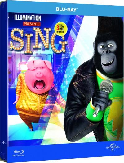 Garth Jennings - Christophe Lourdelet - Énekelj! - limitált, fémdobozos változat - Blu-ray