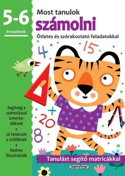 - Most tanulok... számolni (5-6 éveseknek)