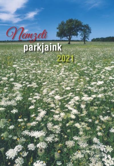 - Nemzeti parkjaink falinaptár 22x33 cm - 2021