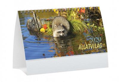 - Állatvilág asztali naptár - 2020