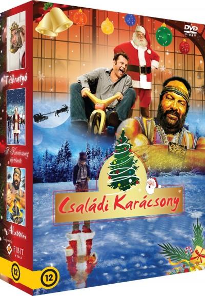 - Családi karácsony - Télbratyó, Aladdin, A karácsony története - Díszdoboz - DVD