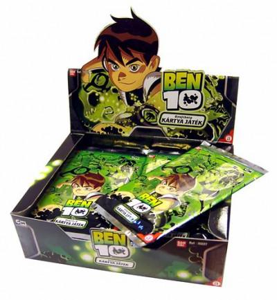 - BEN 10 gyűjthető csata kártya, kiegészítő - túrbó csomag