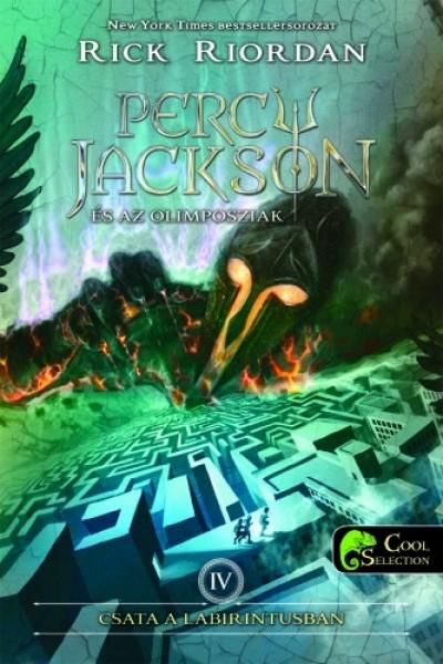 Rick Riordan - Percy Jackson és az olimposziak 4. - Csata a labirintusban - kemény kötés