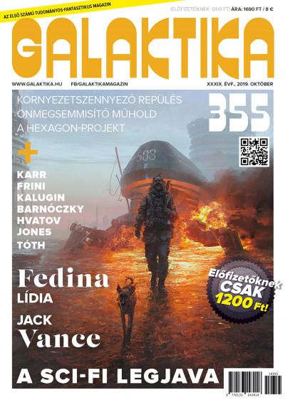 Németh Attila  (Szerk.) - Galaktika Magazin 355.szám - 2019. október