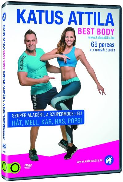 - Katus Attila Best Body: Szuper alakért, a szupermodellel - DVD