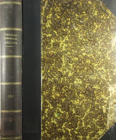 Csopey László  (Szerk.) - Paszlavszky József  (Szerk.) - Wartha Vincze  (Szerk.) - Természettudományi Közlöny 1905