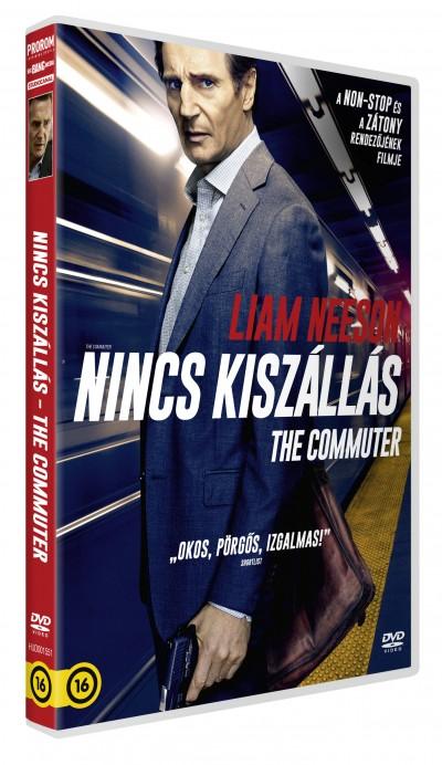 Jaume Collet-Serra - The Commuter - Nincs kiszállás - DVD