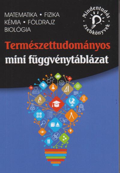 - Természettudományos mini függvénytáblázat