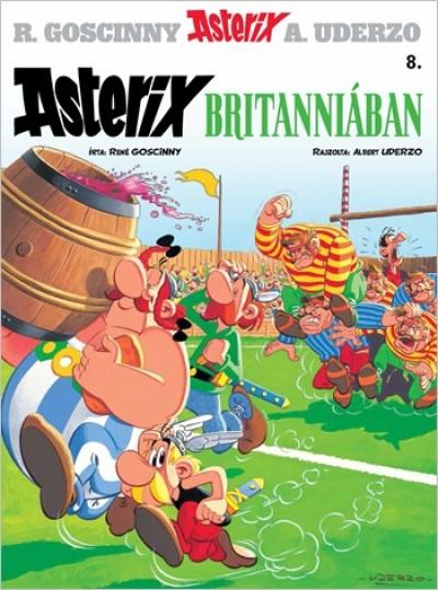 René Goscinny - Albert Uderzo - Asterix 8. - Asterix Britanniában