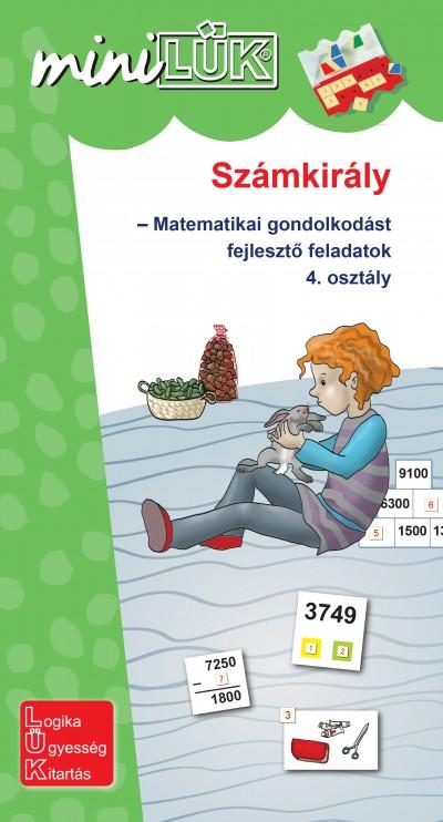 Gál Józsefné  (Összeáll.) - Számkirály - Matematikai gondolkodást fejlesztő feladatok 4. osztály