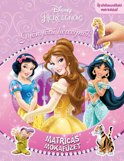 - Matricás mókafüzet - Gyönyörű hercegnők