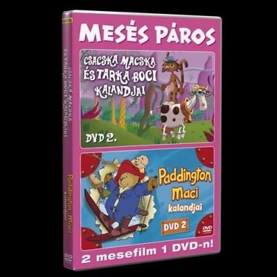 - Paddington Maci DVD 1 / Csacska macska és tarka boci DVD 1