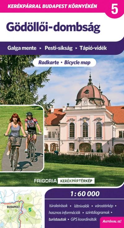 - Gödöllői-dombság kerékpártérkép