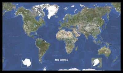 - Világtérkép az űrből
