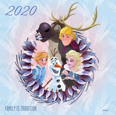 - Frozen lemeznaptár - 2020