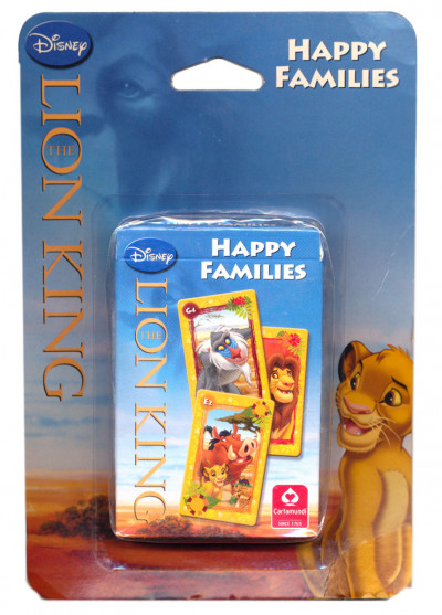 - Disney Oroszlánkirály kvartettkártya