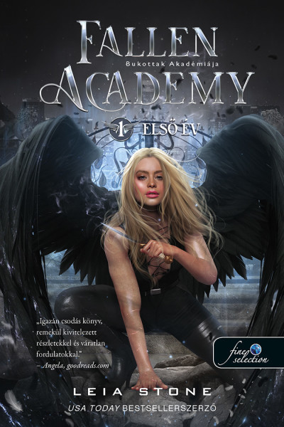 Leia Stone - Fallen Academy - Bukottak Akadémiája 1. Első év