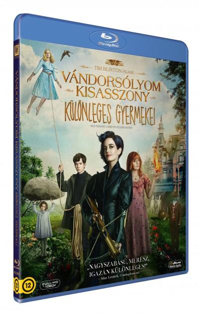 Tim Burton - Vándorsólyom kisasszony különleges gyermekei - Blu-ray