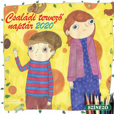 - Családi Tervező naptár 30x30 cm - 2020