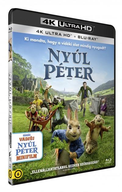 Will Gluck - Nyúl Péter 4K Ultra HD + Blu-ray