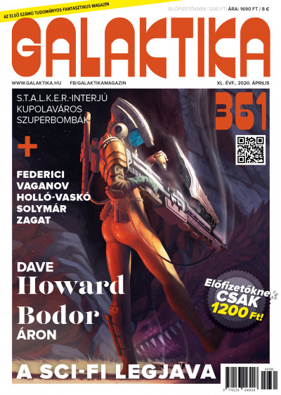 (Főszerk) Mund Katalin (Szerk.) - Galaktika Magazin 361. szám - 2020. április