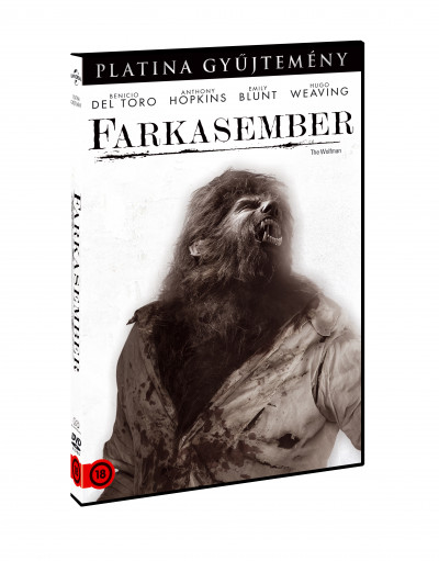 Joe Johnston - Farkasember - DVD