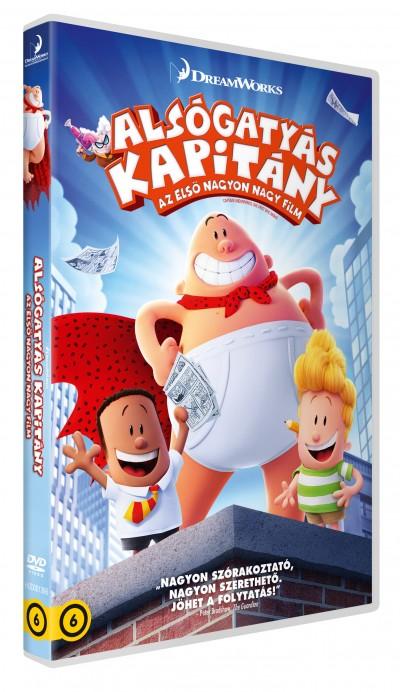 David Soren - Alsógatyás kapitány: Az első nagyon nagy film - DVD