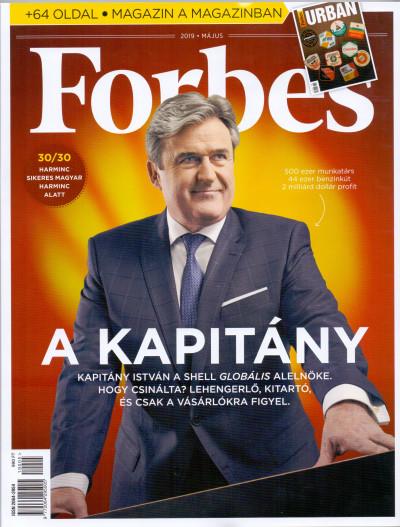 - Forbes magazin - 2019. május