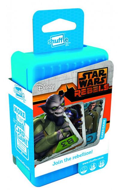 - Shuffle - Star Wars Rebels akció kártya