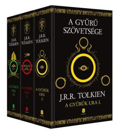 J. R. R. Tolkien - A Gyűrűk Ura I-III.