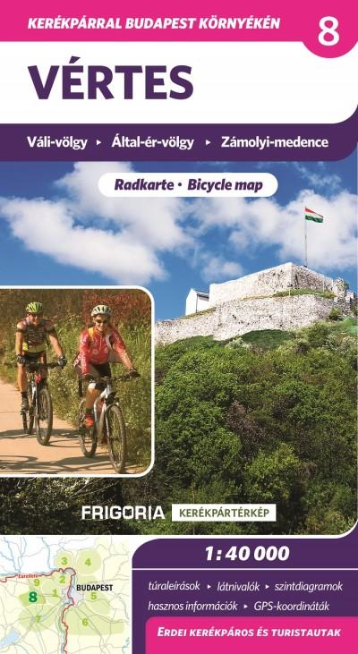 - Vértes kerékpáros térkép