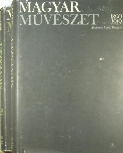 Gábor Eszter - Entz Géza  (Szerk.) - Magyar művészet I-II.