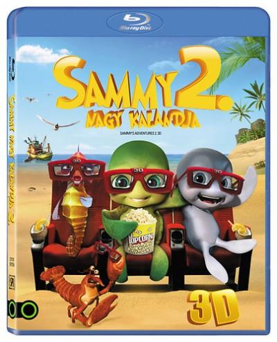 Vincent Kesteloot - Ben Stassen - Sammy nagy kalandja 2. Menekülés a paradicsomból (3D Blu-ray) (JÖN)
