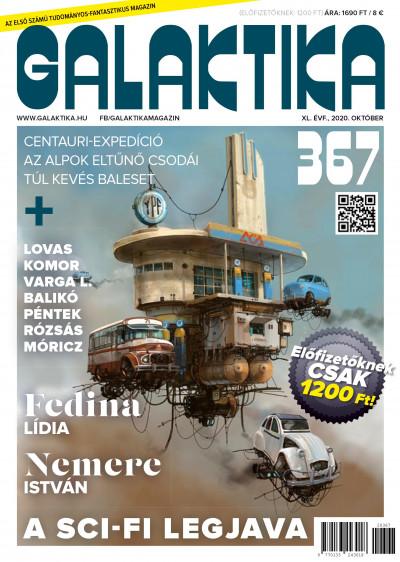 Németh Attila  (Szerk.) - Galaktika Magazin 367. szám - 2020. október