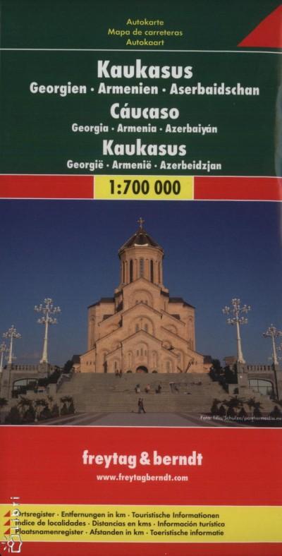- Kaukázus 1:700 000