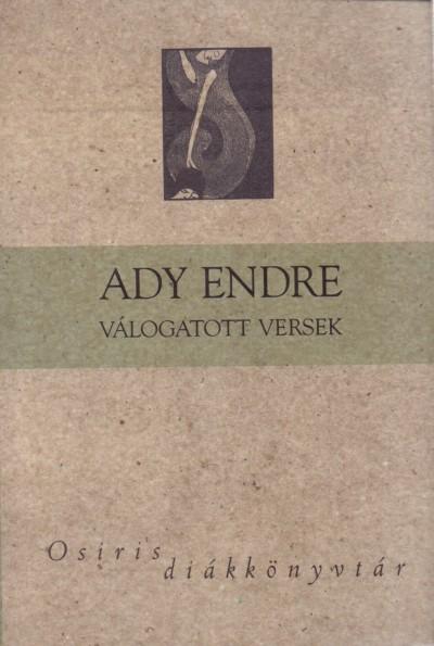 Ady Endre - Mesterházi Mónika  (Vál.) - Ady Endre válogatott versek